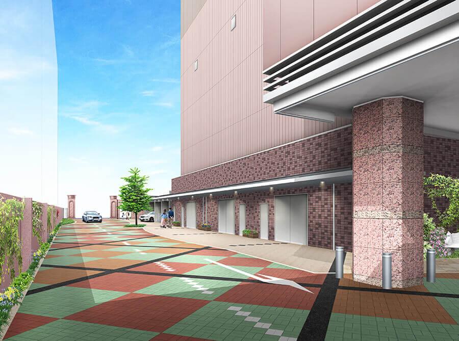 栄タワーヒルズイメージ 駐車場