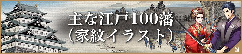 主な江戸100藩